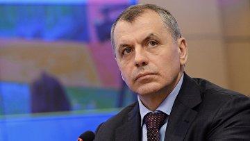 Председатель Государственного Совета Республики Крым Владимир Константинов