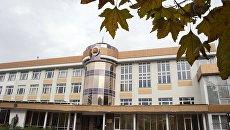 Здание главного корпуса Таврической академии Крымского федерального университета имени В. И. Вернадского в Симферополе