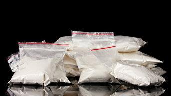 Пакетики с наркотиками. Архивное фото