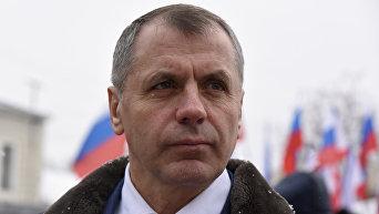 Спикер Госсовета Крыма Владимир Константинов