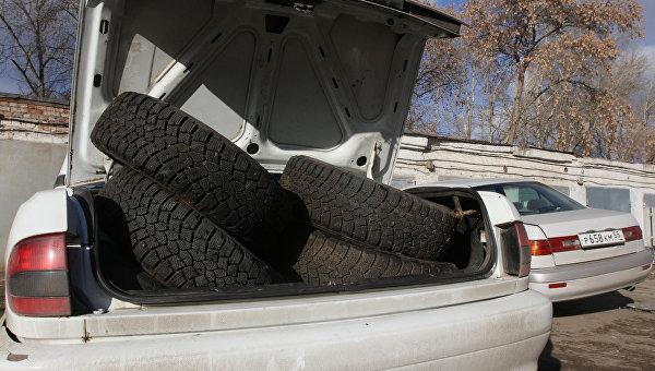 Автомобильные шины. Архивное фото