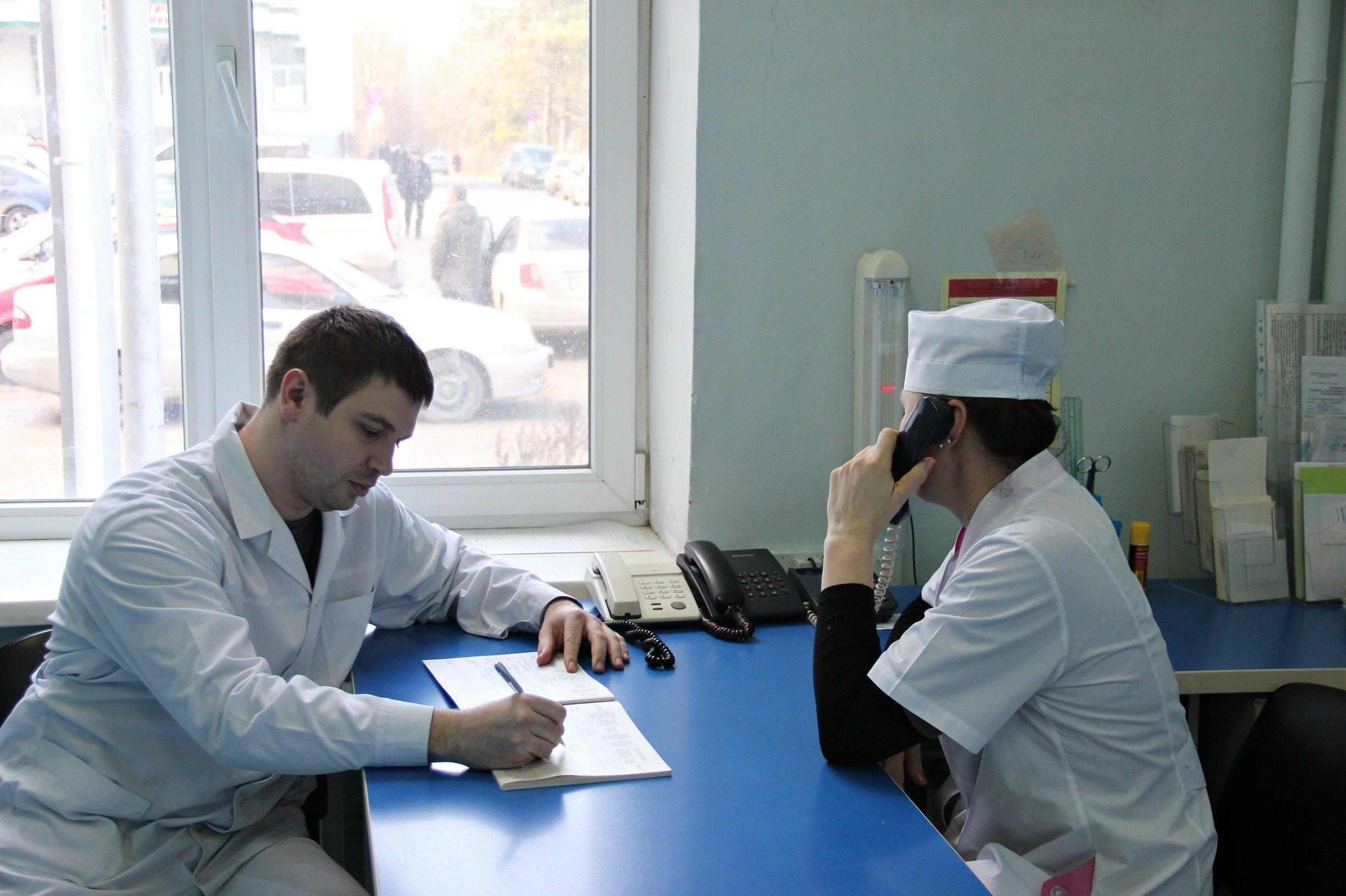 Организация работы врача педиатра в условиях поликлиники