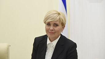 Уполномоченный по правам ребенка в Крыму Ирина Клюева