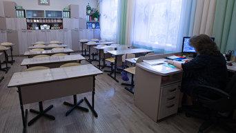 Работа учителя. Архивное фото