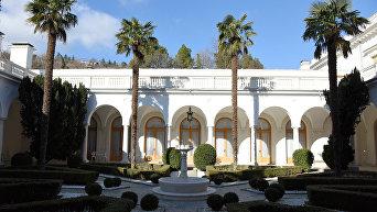 Ливадийский дворец. Итальянский дворик.