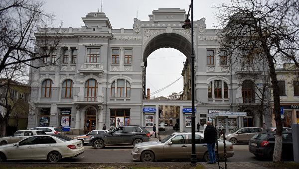 Симферополь, кинотеатр им. Т.Г. Шевченко (Баян)