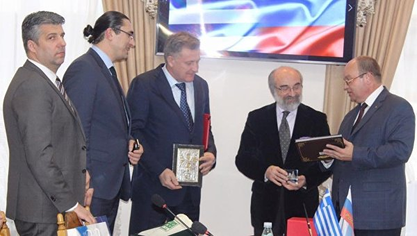 Официальный визит делегации властей греческого города Александруполис в Симферополь