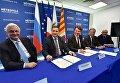 Визит главы администрации Ялты Андрея Ростенко в Ниццу