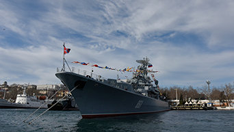 Корабль Черноморского флота Ладный  в Севастополе