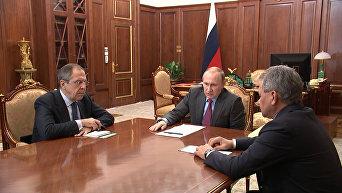 Задача в целом выполнена – Путин поручил начать вывод войск РФ из Сирии