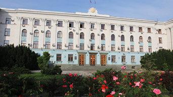 Здание Совета министров Республики Крым в Симферополе