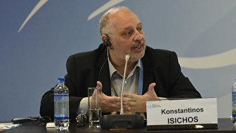Первый заместитель министра национальной обороны Греции в период с января по сентябрь 2015 года Константинос Исихос
