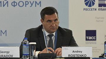 Глава администрации Ялты Андрей Ростенко на Ялтинском международном экономическом форуме