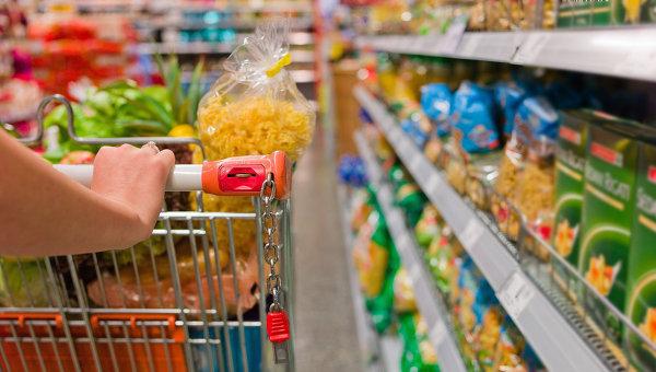 Покупка продуктов питания
