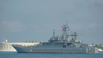 Большой десантный корабль Ямал. Архивное фото