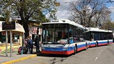 Троллейбус на Ялту