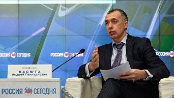Министр промышленной политики Республики Крым Андрей Васюта