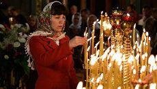 Пасхальное богослужение в Симферополе