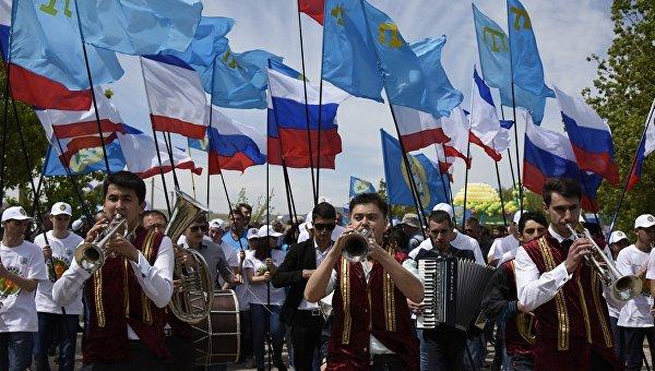 Крымско-татарский национальный праздник Хыдырлез.