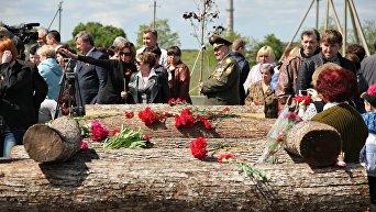 В Мирном открыли вторую очередь мемориала Красный