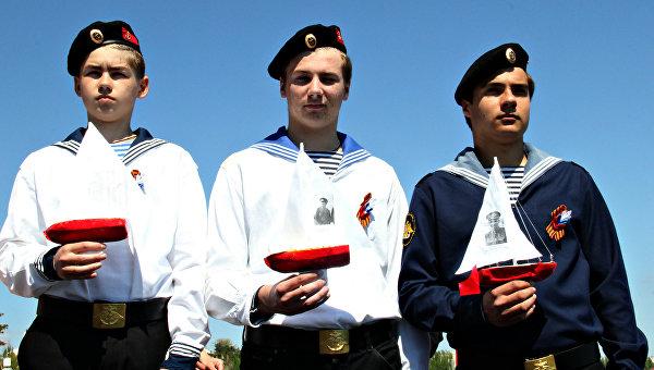 Празднование Дня Победы в Феодосии