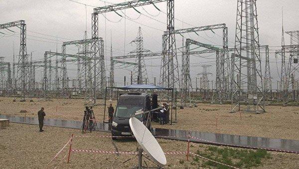 Подстанция Кафа. Подготовка к подключению четвертой нитки энергомоста.