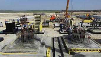 Строительство ПГУ-ТЭС под Севастополем