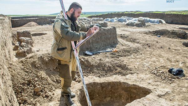 На месте будущего автоподхода к Крымскому мосту нашли монетный клад