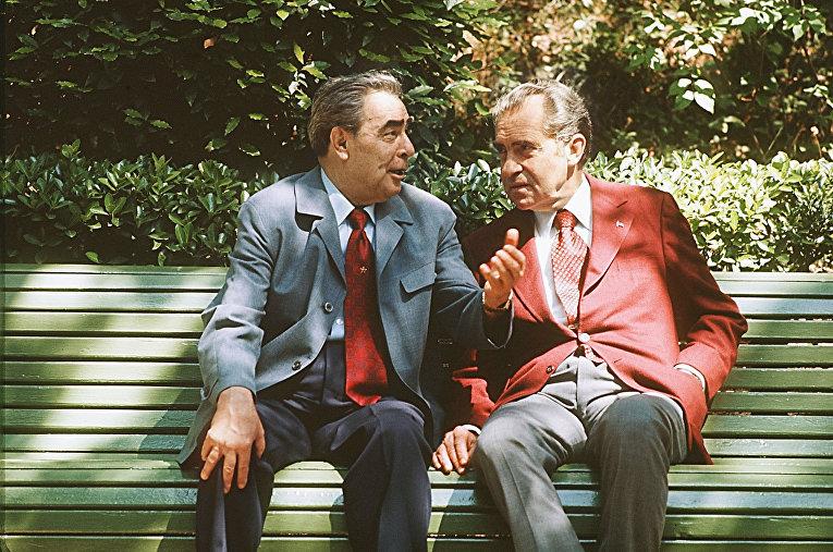 Леонид Брежнев, Ричард Никсон