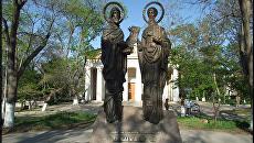 Памятник Кириллу и Мефодию в Севастополе