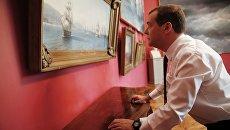 Рабочая поездка премьер-министра РФ Д. Медведева в Крымский федеральный округ. День второй