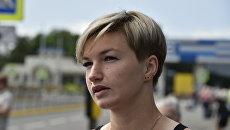 Крымская спортсменка, легкоатлетка Вера Ребрик
