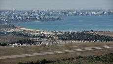 Крым с высоты птичьего полета. Севастополь