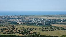 Крым с высоты птичьего полета
