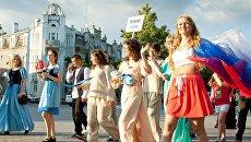 Карнавальное шествие в Евпатории