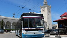 Троллейбус из Симферополя на ЮБК