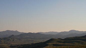 Вид на Коктебель с горы Клементьева