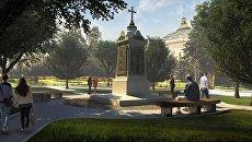 Проект памятника Греческому легиону императора Николая I, воевавшему за Россию и православие при обороне Севастополя в 1853-1858 гг.