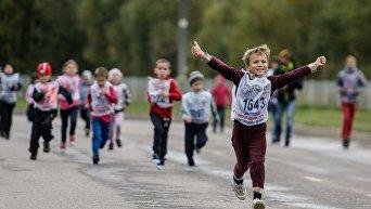 Всероссийский день бега Кросс Нации - 2015 в регионах России