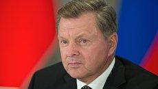 Полномочный представитель президента Российской Федерации в Крымском федеральном округе Олег Белавенцев