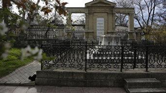 Могила художника Ивана Айвазовского в Феодосии