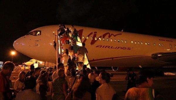Задержка рейсов в аэропорту Симферополь