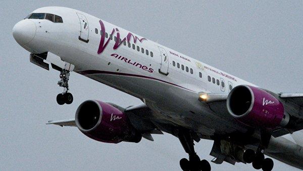 Рейс авиакомпании Вим Авиа