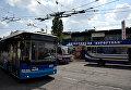 """Автостанция """"Курортная"""" на железнодорожном вокзале в Симферополе"""