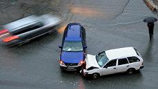 Авария на дороге