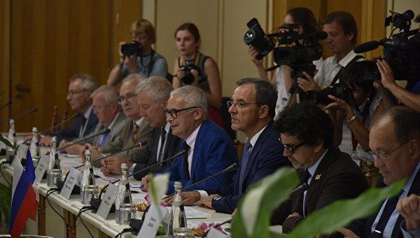 Французские делегаты прибыли в Крым. Встреча в Государственном Совете Республики Крым