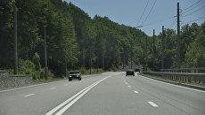 Дорога Симферополь – Алушта