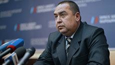 Игорь Плотницкий, глава ЛНР. Архивное фото