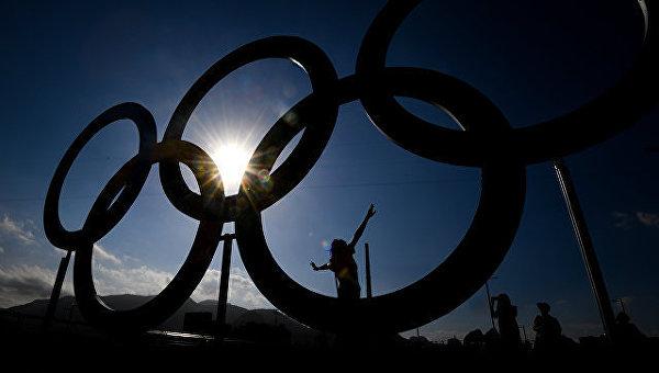 В олимпийском парке в Рио-де-Жанейро