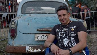 Солист группы 7Б Иван Демьян